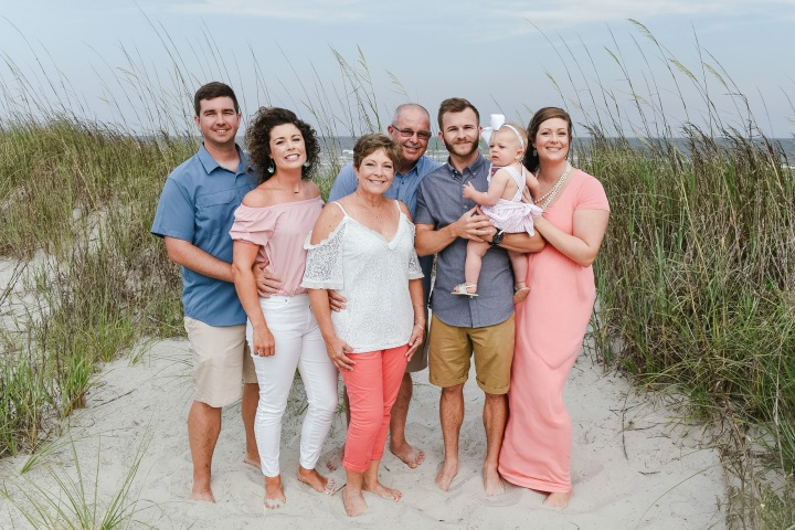 Sea Shore Family Portraits – Myrtle Beach, South Carolina
